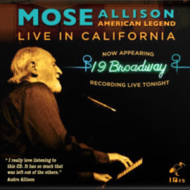 Album Cover Mose Allison Live In California