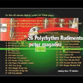 The Official 26 Polyrhythm Rudiments