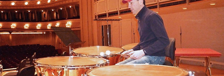 David Herbert – Timpanist Chicago Symphony Orchestra