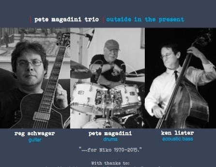 Guitarist  Reg Schwager & Ken Lister bass